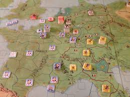 Europe Map Games by Review Of Napoleon Against Europe Hexasim Napoleon Against