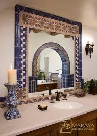spanish bathroom tile design spanish tiled bath mediterranean