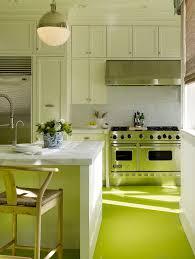 Apple Green Paint Kitchen - kitchens beach kitchen