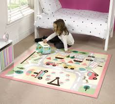 Kids Play Rugs With Roads by Gorgeous Kids Playroom Rugs Numbers Flowers Butterfly Theme Design