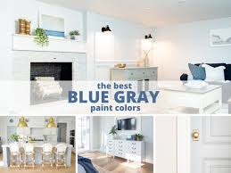 what paint color goes best with gray kitchen cabinets the best blue gray paint colors and most popular