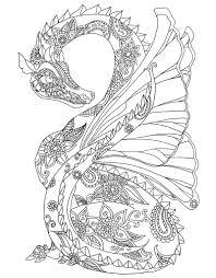 zendoodle coloring majestic dragons antonia cardella macmillan