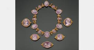 antique gold cameo necklace images The history behind cameos national jeweler jpg