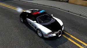 police bugatti bugatti veyron nfs hp police для gta san andreas