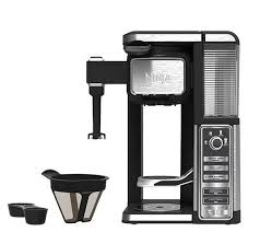 ninja coffee bar clean light wont go off ninja single serve coffee bar with built in frother page 1 qvc com