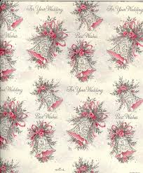 wedding wrapping paper 165 best vintage wrapping paper images on christmas