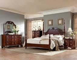homelegance guilford poster bedroom set brown cherry b2155 1sp