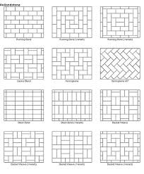 Patio Layout Design Paver Patio Designs These Would Also Make Great Quilt Layout