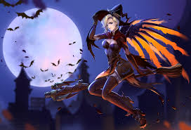background video halloween overwatch full hd wallpaper and background 1920x1310 id 753770