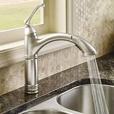 kitchen cabinet sink faucets how to choose your kitchen sink faucet riverbend home