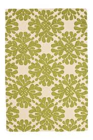 Anthropologie Rugs Coqo Floral Rug Lime From Anthropologie