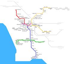 Los Angeles City Map by Los Angeles City Metro Map Metro Map Of Los Angeles City