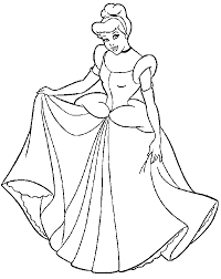coloring pages cinderella free images coloring design 24867