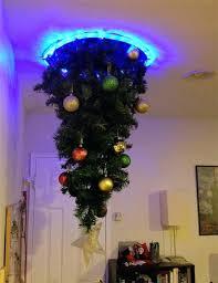 upside down white christmas tree uk white upside down christmas