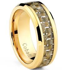 hypoallergenic metals for rings ultimate metals co alliance en cobalt chrome incrusté fibre de