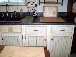 handpainted faux finished kitchen cabinets kitchens room and