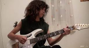 How To Play Comfortably Numb Solo On Guitar Pink Floyd U2013 Comfortably Numb Guitar Solo Cover By 12 Years Old