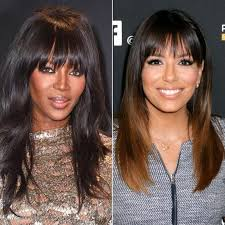 hairstyles that look flatter on sides of head the right bangs to flatter your face shape instyle com