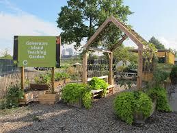 Botanical Garden Internship Governors Island Teaching Garden Grownyc