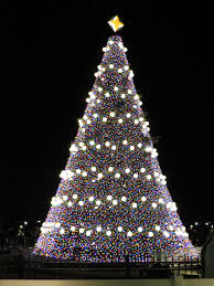 tree out of lights lights decoration