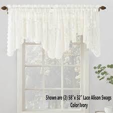 Lace Curtain No 918 Alison Jacquard Lace Curtain Panel Lichtenberg