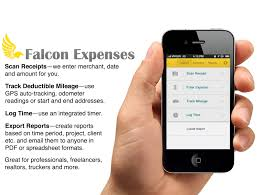 Expense Report Tracking by Falcon Expenses Mileage Expense Tracker Receipt Scanner Time