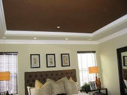 Ceiling Designs For Master Bedroom by Bedroom Simple Brown Painted Bedroom Ceiling Design For Master
