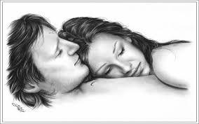 romantic couple sketches cute love drawings pencil art hd