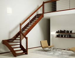 Stairs With Open Risers by Quarter Turn Staircase Wooden Steps Wooden Frame Without