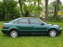 1997 a4 audi 1997 cactus green metallic audi a4 1 8t quattro sedan 49566274