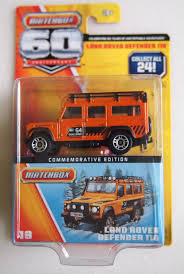 matchbox land rover discovery amazon com matchbox 60th anniversary land rover defender 110