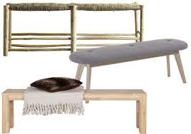banc de chambre banc de lit trendy banc rinaldo velours noir with banc de lit
