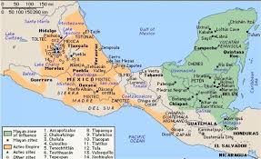 map of mexico yucatan region maps ancient america
