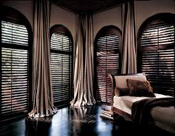 great 8 curtains for windows with blinds on plantation shutters