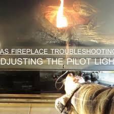 gas fireplace pilot light lighting gas fireplace repair good pilot light youtube inside