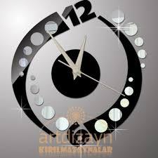 Wall Clock Design Sale Silver Font B Metal Black Face B Surripui Net