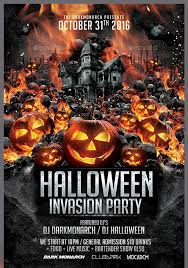 halloween party flyer spintel co