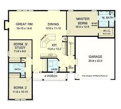 small ranch floor plans audacious bedroom ranch house plans open floor terrific open floor