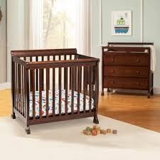 Grey Mini Crib Changing Tables Mini Cribs With Changing Table Mini Crib With