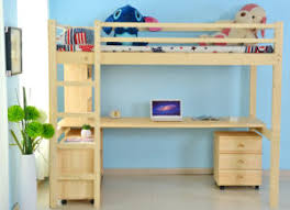 Bunk Bed With Study Table China Children Wooden Bunk Bed With Study Table M X1012 China