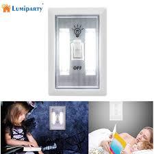 cob led wireless night light with switch lumiparty magnetic night light ultra bright mini cob led wireless