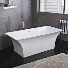phoenix bathrooms lola freestanding bath inc chrome overflow u0026 waste