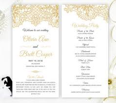 ceremony programs wedding programs lemonwedding