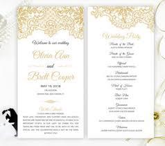 cheap wedding ceremony programs wedding programs lemonwedding