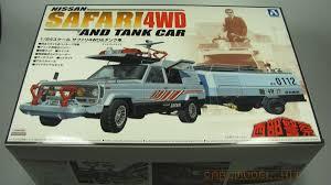 nissan safari pick up nissan safari 4wd and tank car aoshima car model kit com
