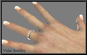 plain white gold wedding band white gold wedding band plain wedding band gold wedding band