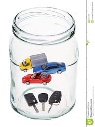 cars and keys in open glass jar stock image image 39134081