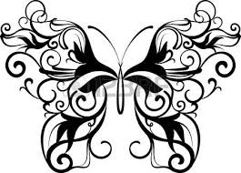 ornamental butterfly royalty free cliparts vectors and stock