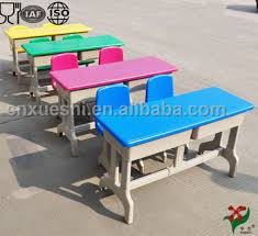 childrens plastic table and chairs eco friendly solid smooth used daycare furniture kid