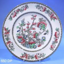 johnson bros indian tree dinner plate sold collectable china